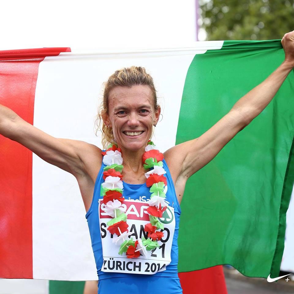 Valeria Straneo, maratoneta con argento mondiale ed europeo -di Matteo SIMONE