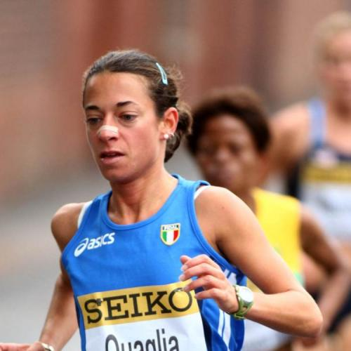 Emma Quaglia  è nona alla Maratona di  Parigi