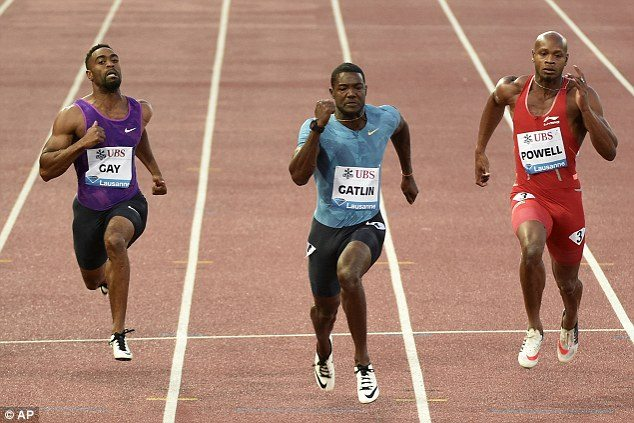 Il trio Powell, Gatlin e Gay super stelle della tappa della Diamond League di Shanghai