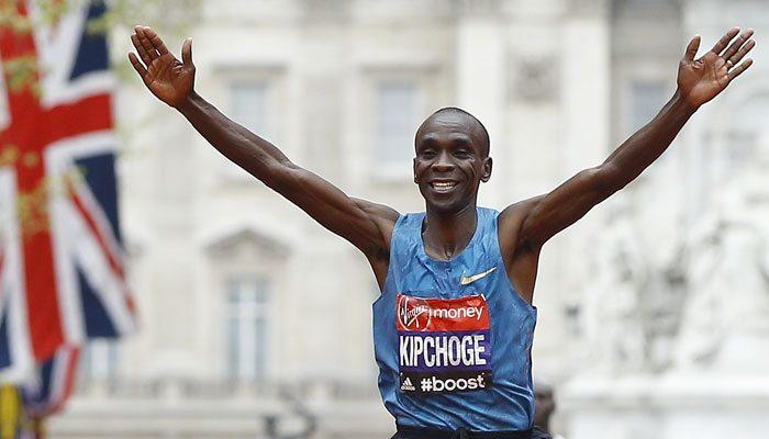 Maratona di Londra da RECORD: Eliud Kipchoge, secondo tempo della storia, e Jemima Sumgong