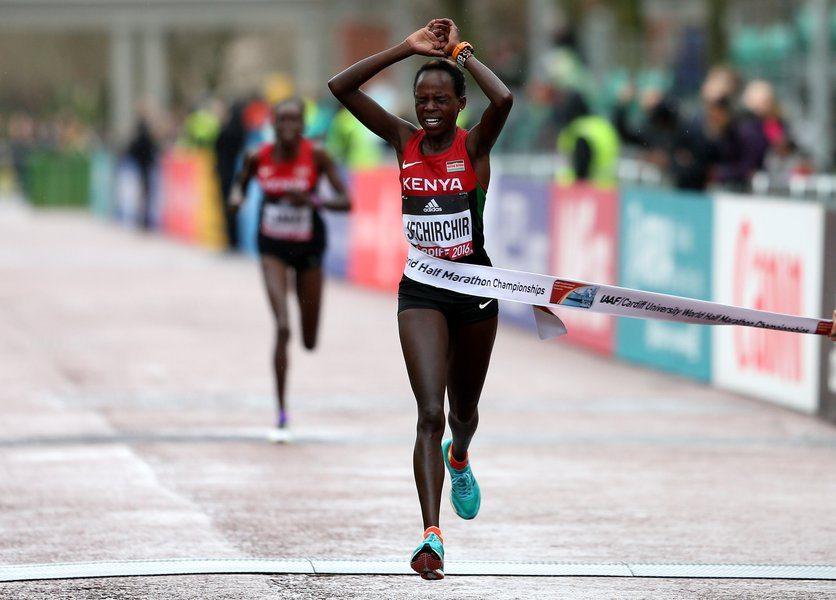 In Cina la Campionessa del Mondo di Mezza Maratona Peres Jepchirchir vince la gara