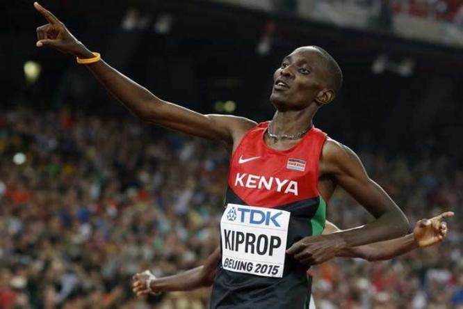 Asbel Kiprop vince gli 800 metri  a  Eldoret in Kenia con il tempo di  1: 44,7