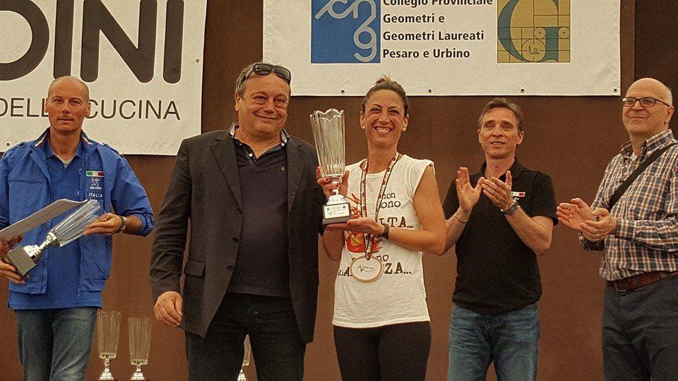 Rossella Leone brilla al campionato italiano geometri di maratona