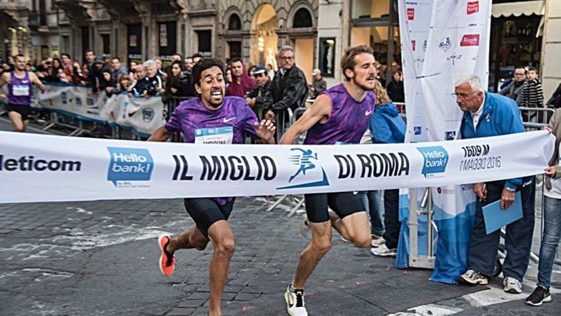 Grande successo per il Miglio di Roma