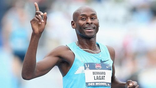 A 41 anni  Bernard Lagat corre i 10.000 in 27:49.35, 5^ prestazione mondiale 2015