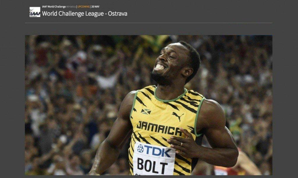 Bolt a Ostrava primo sub 10: sui 100 metri vince in 9.98, miglior prestazione stagionale