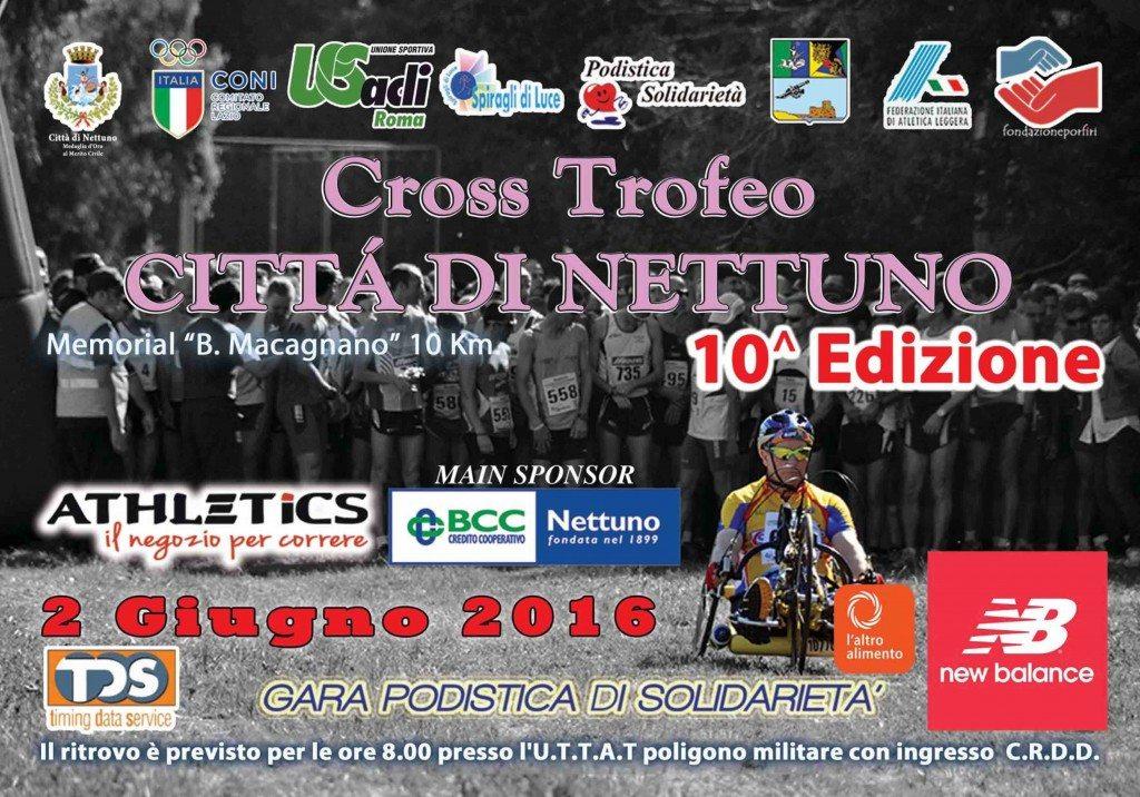 10° TROFEO CITTA' DI NETTUNO 2 Giugno 2016 ore 9,30- di  Matteo SIMONE