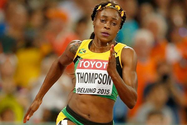 Elaine Thompson corre i 100 metri in 10.71, ma il vento + 2,4 m / s non le da il personale