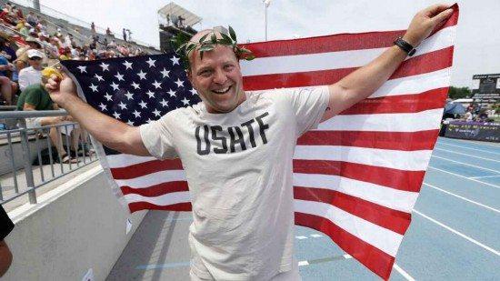 Il campione Olimpico Adam Nelson a 41 anni vuole tornare alle Olimpiadi nel getto del peso
