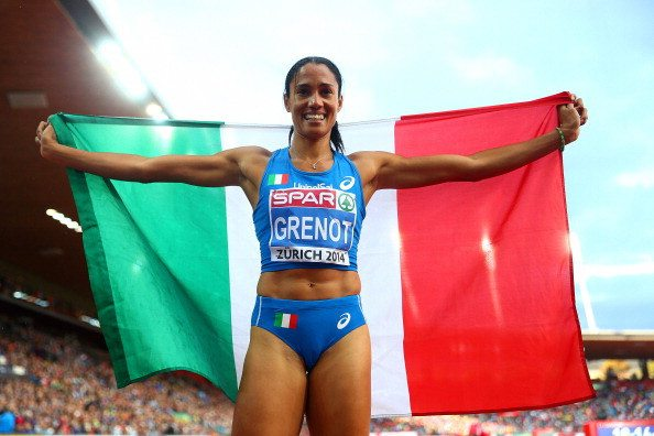 Libania Grenot  record Italiano nei 200 metri