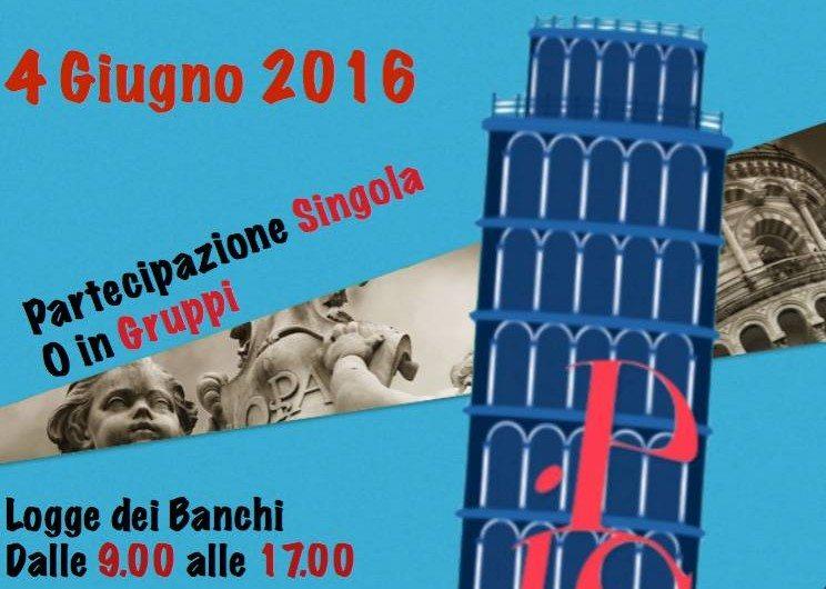 Pisa in corsa…riscopri la tua città, al via Sabato 4 Giugno