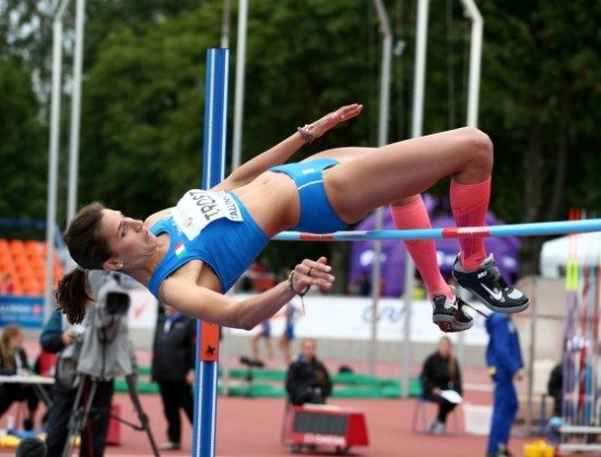 Alessia Trost vola a Eugene: è terza in Diamond League