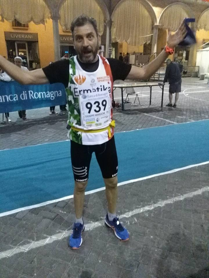 Giuseppe Mangione, come il vino buono, 2016 chiude 100km passatore in 10h30'- di  Matteo SIMONE
