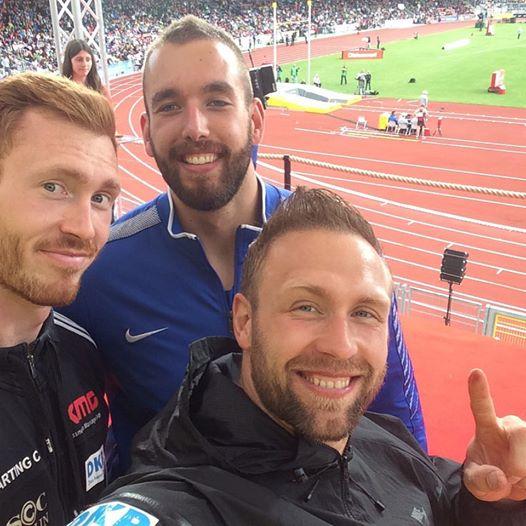 Robert Harting ritorna e vince il disco ai campionati tedeschi battendo il fratello