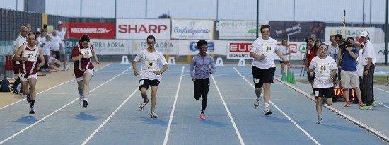 26° Meeting Sport Solidarietà- Shelly Ann Fraser, plurimedagliata, corre in veste di testimonial i 50m con i disabili