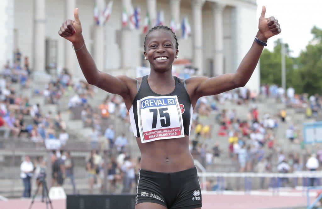 Jesolo: DesolaOki demolisce il record italiano dei 100m ostacoli nell'ultima giornata dei campionati italiani allievi