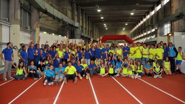 Trieste Atletica: inaugurata la nuova pista d'atletica indoor nell'ex Fiera a Montebello