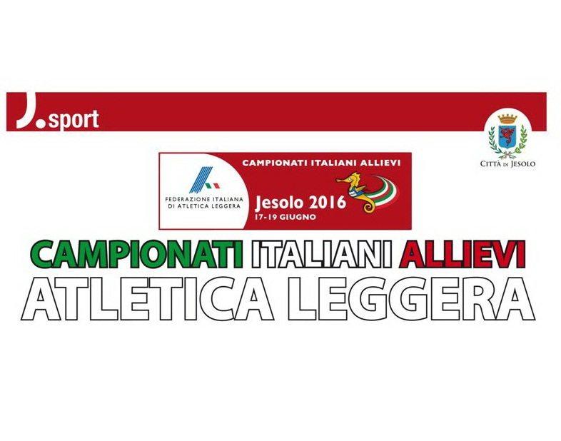 Jesolo Tricolore Allievi: i risultati  della seconda giornata