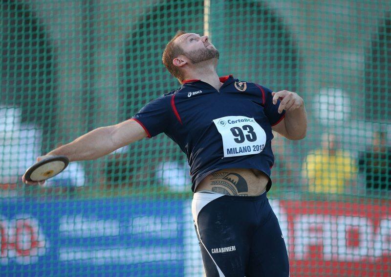 Hannes Kirchler a Tarquinia a 64,97 nel disco, minimo per gli europei di Amsterdam