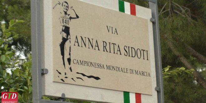 Annarita Sidoti: Gioiosa Marea le dedica una stele commemorativa sul lungomare