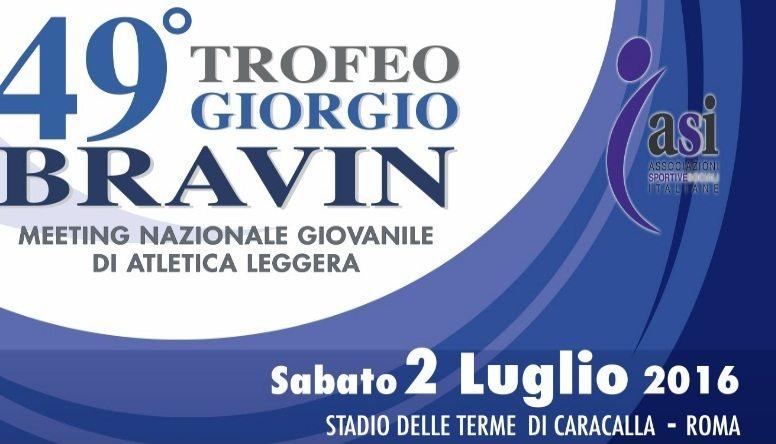 Trofeo Bravin: pronti i cadetti e gli allievi  per l'edizione 2016