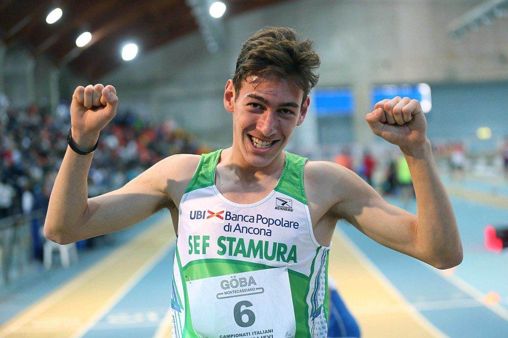 Jesolo:  SimoneBarontini super record italiano negli 800 metri