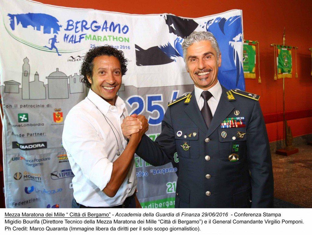 La Mezza Maratona dei Mille Città di Bergamo  del 25 settembre 2016 allarga gli orizzonti