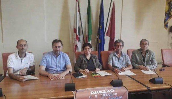 Campionati Italiani Master di atletica leggera presentatai ad Arezzo