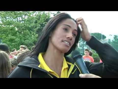 """Libania Grenot ieri ospite da Fabio Fazio nella puntata di """"Che fuori tempo che fa"""""""