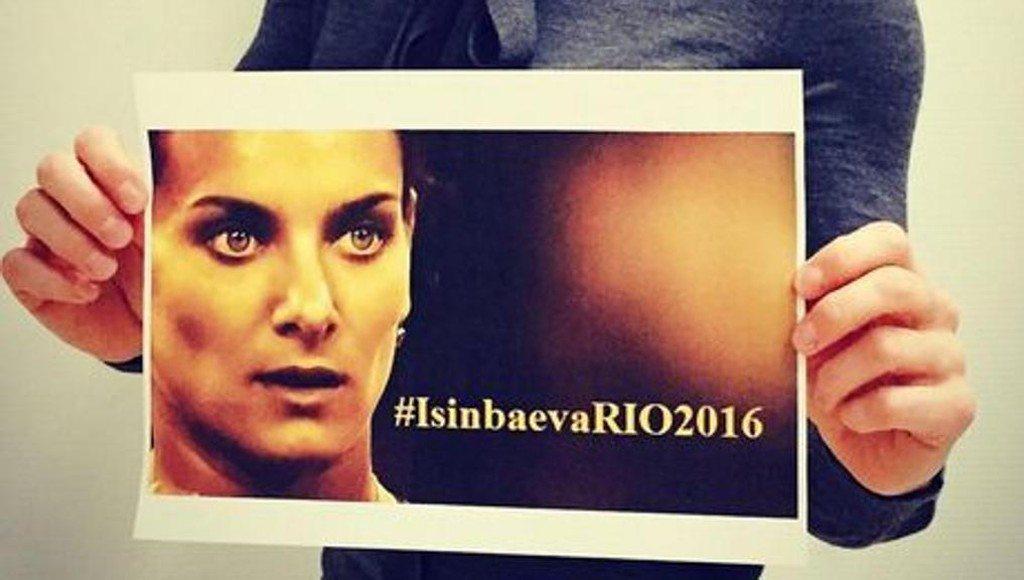 Yelena Isinbayeva miglior prestazione mondiale 2016, alla faccia della sospensione