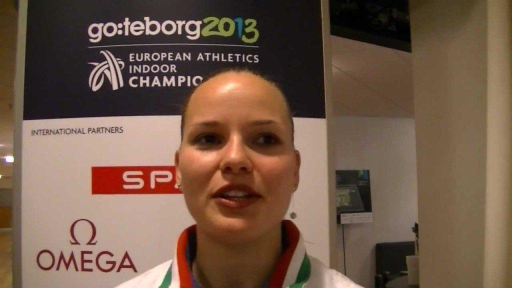 VeronicaBorsi si riprende l'argento degli  Europei Indoor di Goteborg 2013 dopo la squalifica della seconda classificata