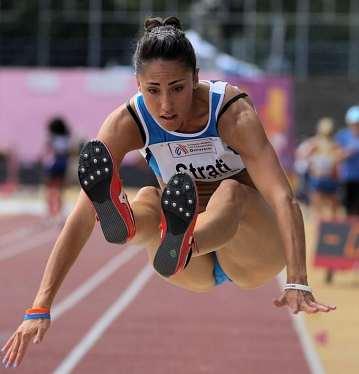 LauraStratia Lubiana salta un buon 6,59 nel lungo