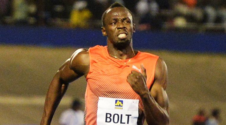 Usain Bolt corre in 9.88 i 100 metri di Kingston, batte Powell e Blake-IL VIDEO