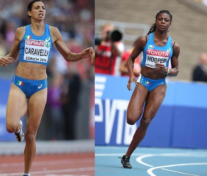 Marzia Caravelli e Gloria Hooper domani a Lucerna rispettivamente sui 400 ostacoli e sui 200 - LA DIRETTA STREAMING