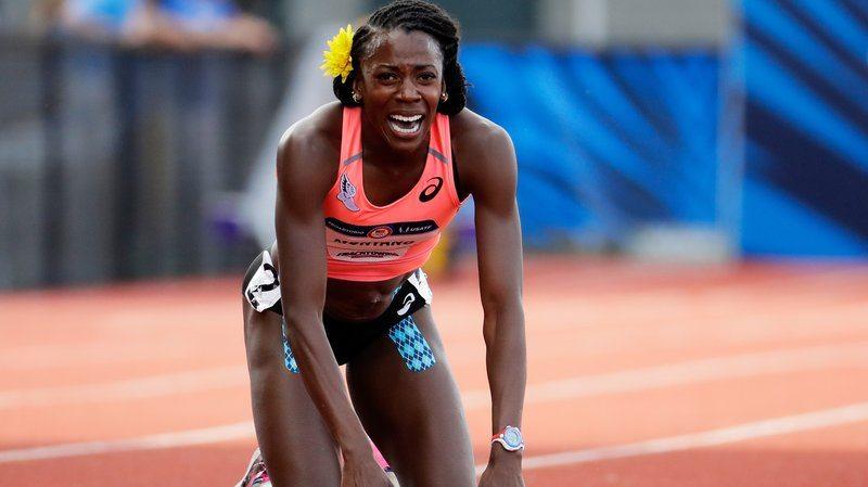 Il pianto di Alysia Montano, ai trials Usa una caduta le nega l'ultima chance per Rio