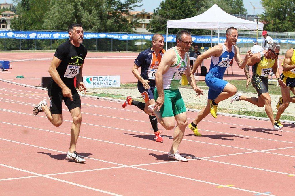 Risultati finali dei Campionati Italiani Master di Arezzo