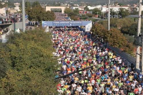 Boom di partecipanti  alla Maratona di Atene, sono già 50.000 gli iscritti