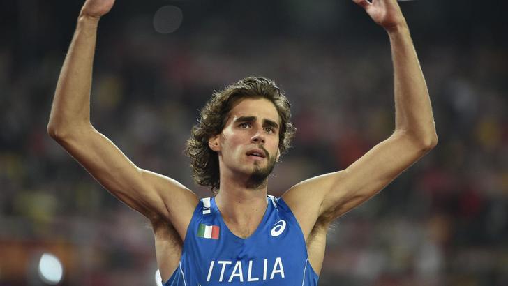 Gianmarco Tamberi a caccia dell'oro nella finale del salto in alto su Raisport