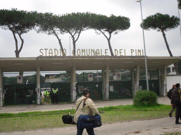 C'era una volta a Viareggio lo stadio dei Pini