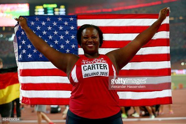 Trials Usa: Super getto del peso femminile, 8 atlete oltre i 18 metri!