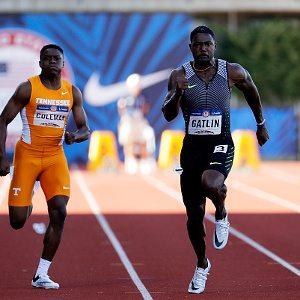 Trials Usa: Justin Gatlin e LaShawn Merritt passeggiano nelle semifinali dei 200 metri