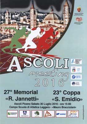 Ascoli Meeting 2016: tutto pronto per il 30 luglio, atteso Nazareno di Marco nel disco