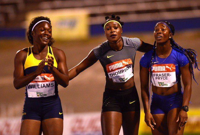Elaine Thompson offusca Bolt, 10,70 nei 100 metri spettacolo- IL VIDEO