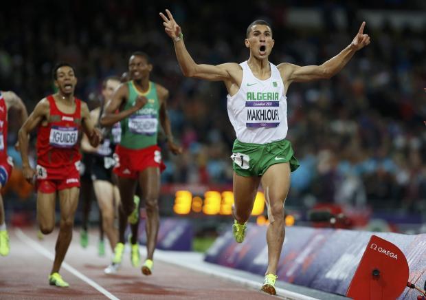 Impressionante 1: 43.92 negli 800 metri dell'algerino Taoufik Makhloufi- Il Video