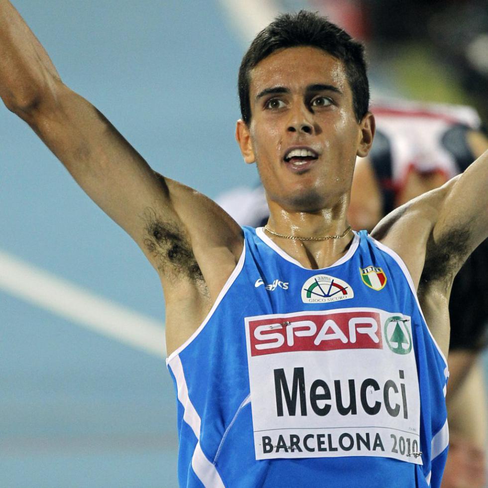 Daniele Meucci conquista con il cuore il bronzo nella Mezza maratona dei Campionati Europei di Amsterdam