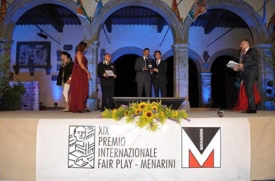 XX edizione del Premio internazionale Fair Play Menarini 2016, c'era anche Marie Jose' Perec