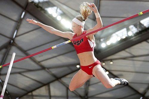Sandi Morris stabilisce il record statunitense nell'asta con m.4,93