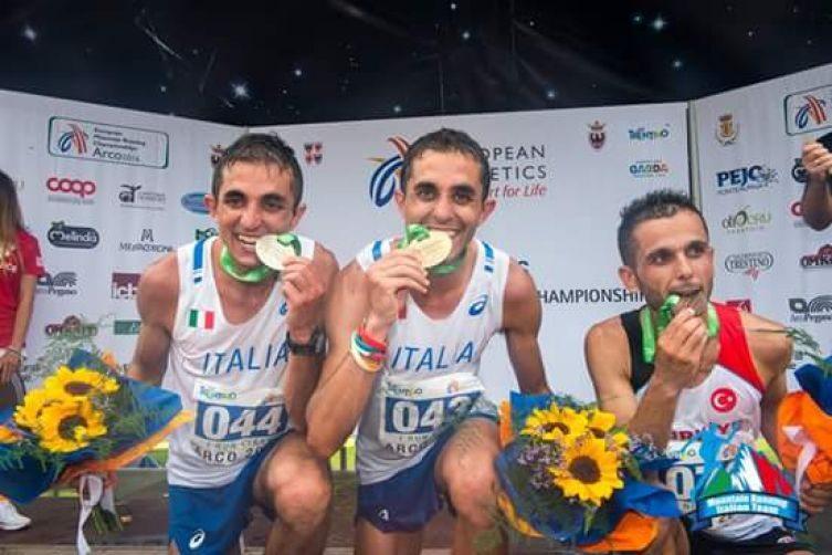 Martin Dematteis è campione d'Europa ad Arco in Trentino nella corsa in Montagna, l'Italia piglia tutto!
