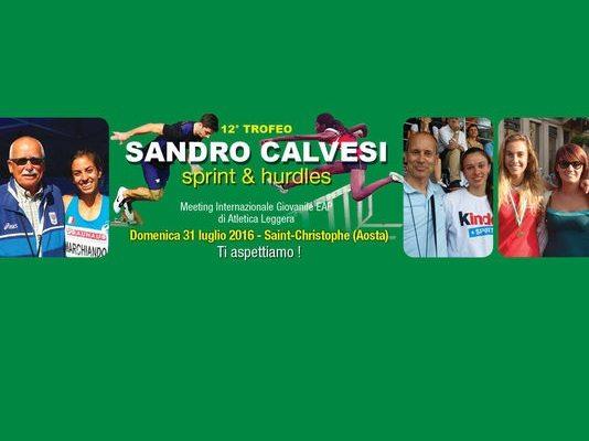 Domenica il Trofeo Sandro Calvesi Sprint & Hurdles: la  Madrina sarà Catherine Bertone