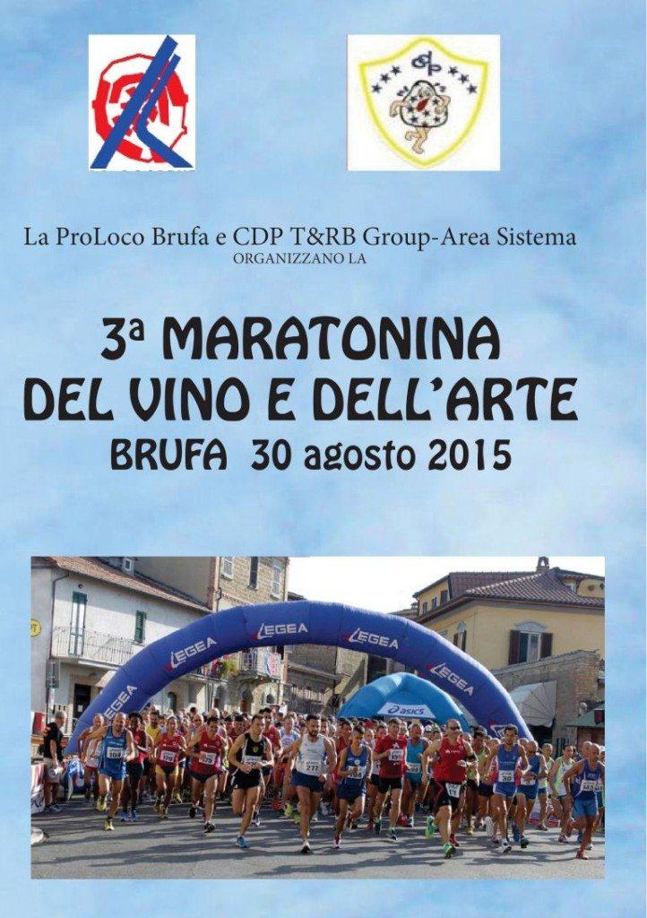 Ladri in azione alla Maratonina del Vino e dell'Arte di Brufa in provincia di Perugia